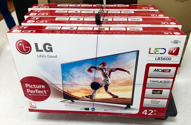top tv brands lg