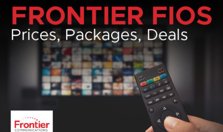 Frontier FiOS - Pricing Packages Deals 2020 - Featured Image