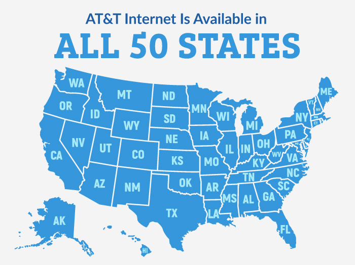 AT&T Availability Map