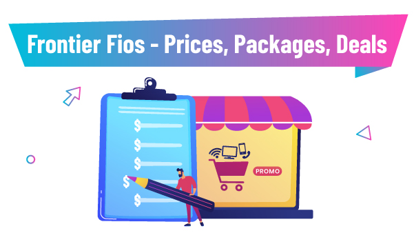 Frontier FiOS - Pricing Packages Deals 2019 - Featured Image
