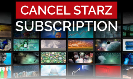 Cancel Starz Subscription
