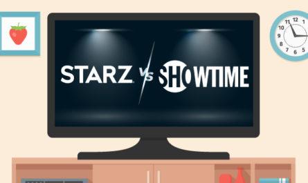 Starz vs Showtime