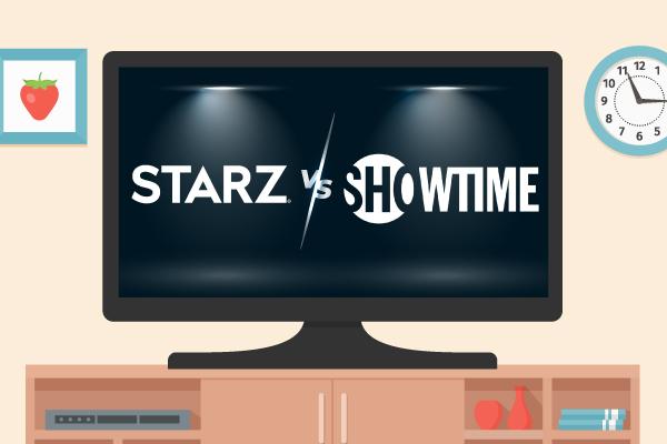 STARZ vs. Showtime